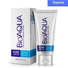 Уценка! Очищающая пенка для умывания BioAqua Pure Skin Anti-Acne против акне и воспалений 100 мл