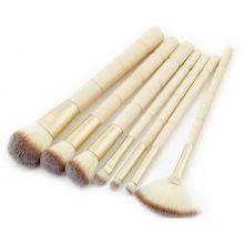 Кисти для макияжа Brushes for make-up bamboo 7 accessories