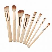 Кисти для макияжа Eco Brushes for Makeup 8 pieces