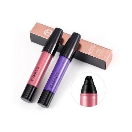Сияющий блеск для губ с жемчужным отливом Shimmer Lip Gloss O.TWO.O