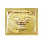 Гидрогелевая маска для лица Bioaqua 24 carat gold с 24к золотом 60 г