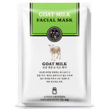 Тканевая маска на основе козьего молока