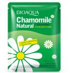 Тканевая увлажняющая маска Bioaqua  Chamomile с ромашкой. 30 грамм