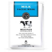 Тканевая маска для лица Rorec Milk Plus Whitening с протеинами молока 30 мл