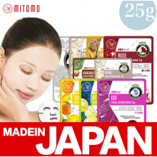 Японские тканевые маски для лица Mitomo