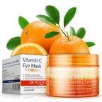 Успокаивающие освежающие патчи для глаз с экстрактом апельсина и гинкго билоба