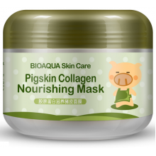 Омолаживающая маска с коллагеном BioAqua pigskin collagen nourishing mask