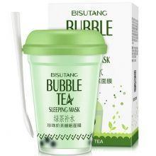 Увлажняющая ночная маска с экстрактом зеленого чая и гиалуроновой кислотой