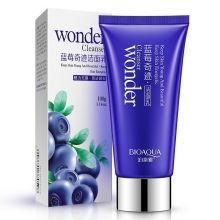 Очищающая антиоксидантная пенка для умывания с экстрактом черники Bioaqua Wonder Cleanser