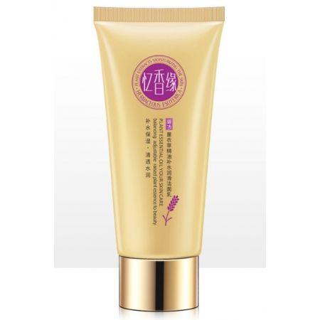 Очищающая пенка для умывания с эфирным маслом лаванды Plant Extracts Moiturising the Skin