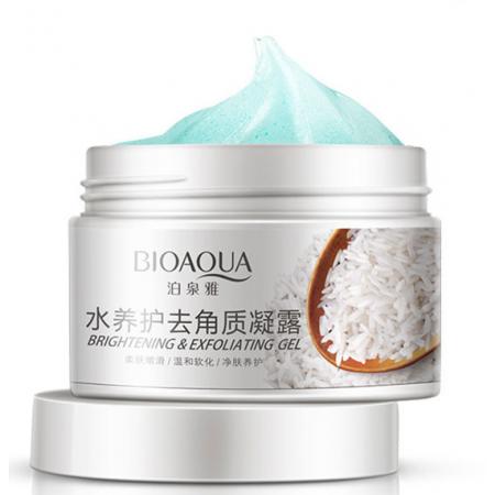 Гель-эксфолиант BioAqua с рисовым экстрактом и фруктовыми кислотами 140 г
