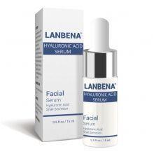 Глубокоувлажняющий серум для лица Lanbena с гиалуроновой кислотой, муцином улитки и аллантоином 15 г