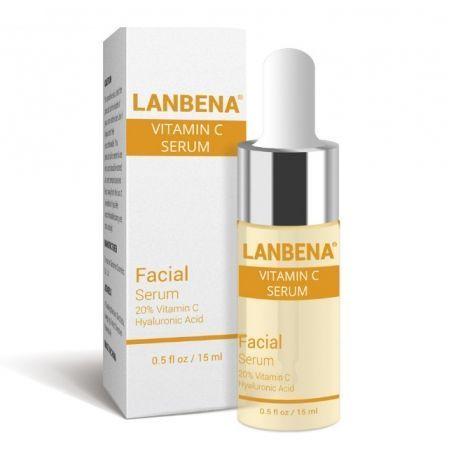Осветляющий  серум с витамином С и аргинином LANBENA Vitamin C Serum