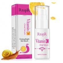 Антивозрастная укрепляющая сыворотка для лица  RtopR  Vitamin C  Snail serum  витамином С и секретом улитки 20 мл