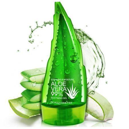 Гель для лица и тела BioAqua с натуральным экстрактом алоэ 99% 160 г