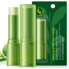 Антиоксидантная увлажняющая гигиеническая помада-бальзам Bioaqua с экстрактом зеленого чая