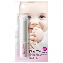Увлажняющий питательный бальзам с экстрактом меда, маслом ши и макадамии Bioaqua Baby skin LipBalm