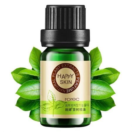 Эфирное масло чайного дерева Rorec для ухода за кожей. 10 мл