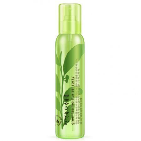 Увлажняющий спрей для лица с экстрактом зеленого чая Green tea moisturizer spray Rorec